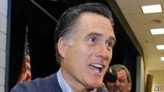 Mitt Romney em Maine (AP)