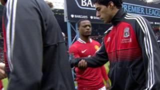 利物浦的苏阿雷斯因在与曼联的比赛前拒绝与埃弗拉握手