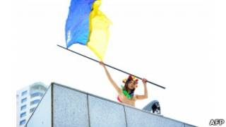 активиста femen