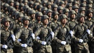 Lực lượng đặc biệt của PLA diễu binh nhân Quốc khánh Trung Quốc