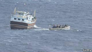 قارب صيد صومالي