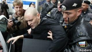 Задержание Удальцова