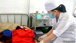 Bé Nguyễn Thục Phi (Nguồn: VnExpress)