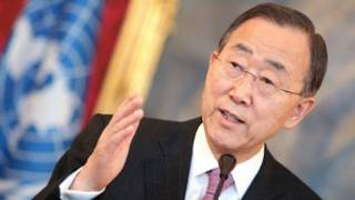 Mr. Ban Ki Moon, babban sakataren majalisar dinkin duniya