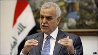 Mataimakin Shugaban Kasar Iraqi Tariq al-Hashimi