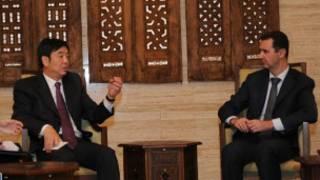 ژای جون و بشار اسد
