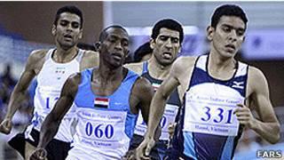 تیم دوومیدانی ایران