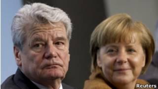 Гаук и Меркель