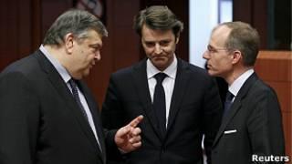 Встреча представителей стран еврозоны