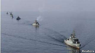 Marina iraniana (arquivo) Foto: Reuters