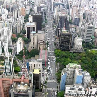 Avenida Paulista. WikimediaCommons