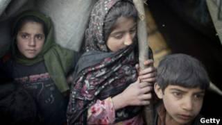 افغان پناہ گزین: فائل فوٹو