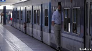 Trem argentino (Reuters)