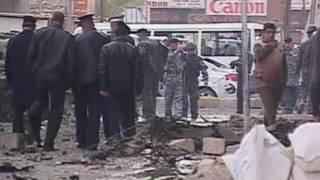 Quang cảnh nơi diễn ra vụ đánh bom tại Iraq