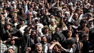 Imyiyerekano kubera iturirwa rya Koran muri Afghanistan