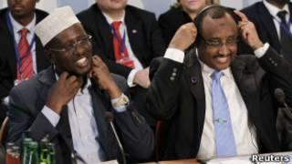 رئيس الصومال ورئيس وزرائه