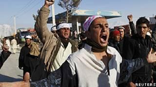 Protesto em Cabul/Reuters