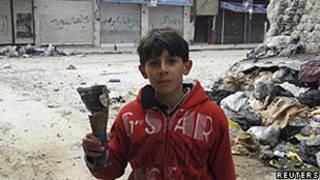 Miorador de Homs (Reuters)