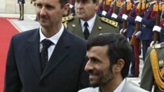 أحمدي نجاد والأسد