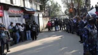 काठमाण्डौंमा सोमवार शक्तिशालि बम विष्फोट भएको थियो ।
