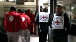 موظفو الصليب الأحمر