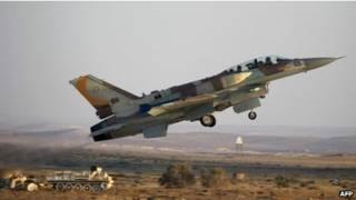 هواپیمای اف-16 اسرائیلی