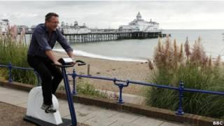 Ejercicio en bicicleta estática