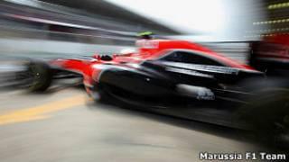 Болид Marussia Virgin Racing