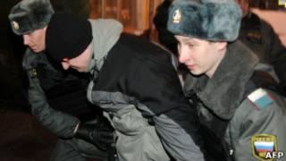 """Активисты """"Другой России"""" у ЦИКа"""