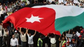 مظاهرة في الأردن