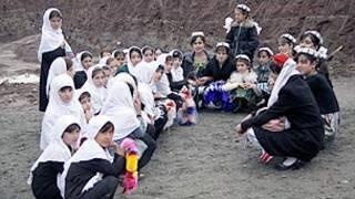 کودکان تاجیک و افغان