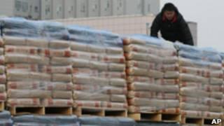 Поставки продовольствия в КНДР