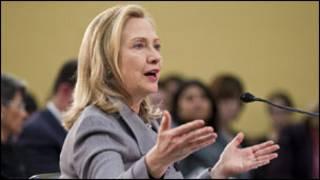 Sakatariyar wajen Amurka, Hillary Clinton