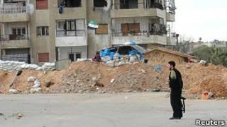 Улица в городе Хомс