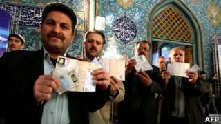 Eleições no Irã/AFP