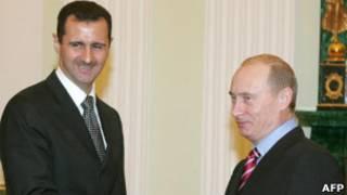 اسد و پوتین