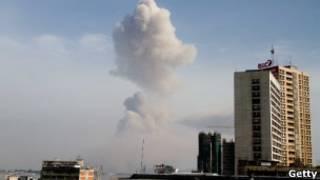 Взрывы в Конго