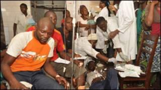 Majeruhi wafurika hospitali Brazzaville