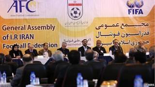 انتخابات فدراسیون فوتبال ایران