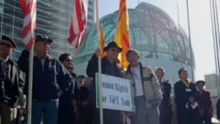 Biểu dương cho nhân quyền Việt Nam ở San Jose ngày 5/3/2012