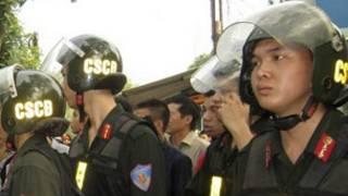 Cảnh sát cơ động Việt Nam (hình minh họa)