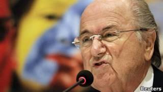 Shugaban hukumar kwallon kafa ta duniya Sepp Blatter