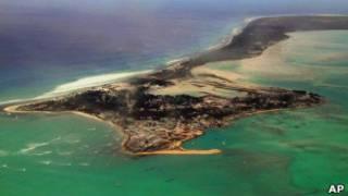Один из островов Кирибати
