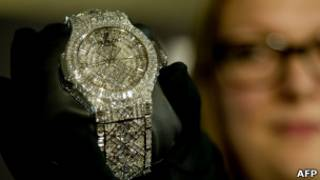 Бриллиантовые часы за 5 млн долларов