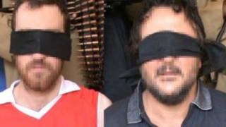 الرهينتان في فيديو سبق مقتلهما