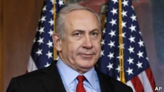 Биньямин Нетаньяху в Вашингтоне