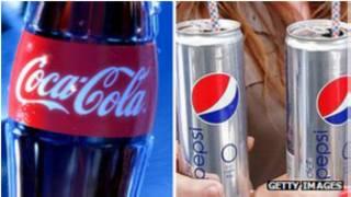 نوشابه پپسی و کوکاکولا