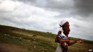 Mujer en República Dominicana