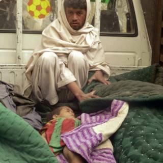 Xác nạn nhân ở Afghanistan
