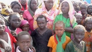 لاجئون سودانيون